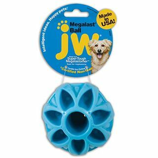 JW Pet Company Megalast Ball Dog Toy, Besar