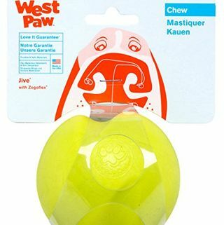 West Paw Desain Zogoflex Jive Dog Toy
